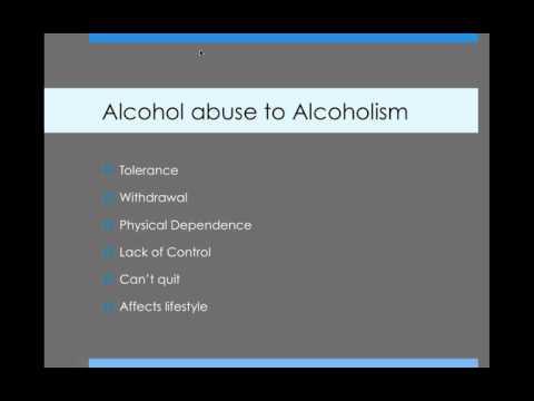 alcohol addiction powerpoint