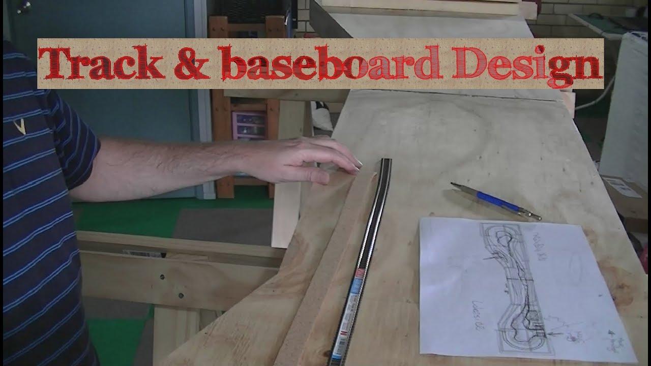 Track & Baseboard Design N-scale modular layout
