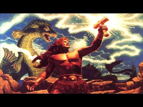 Manowar - Sons of Odin/Gods of War (lyrics)