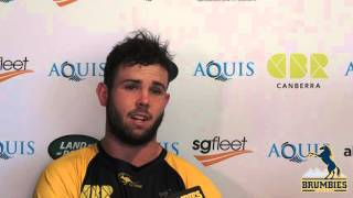 Robbie Coleman Talks  Brumbies Pre-Season | Rugby Video Highlights
