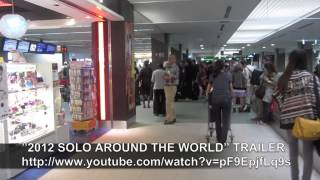 PAUL HODGE: TOKYO NARITA AIRPORT, SOLO AROUND WORLD IN 47 DAYS, Ch 277, Amazing World in Minutes