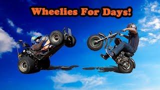 Go Kart and Mini Bike Wheelies