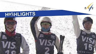 Highlights| Qi Guangpu returns to win in Aerials at Deer Valley| FIS Freestyle Skiing