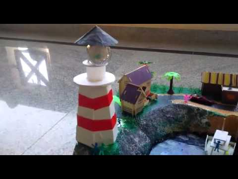Sea port model - Science projects