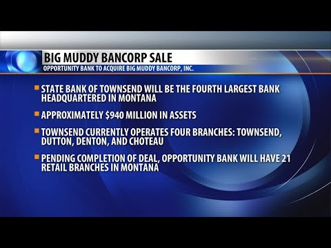 Opportunity Bank reaches agreement with Big Muddy Bancorp