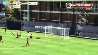 Stevi Parker Golden Goal Gives Women's Soccer OT Win at Auburn