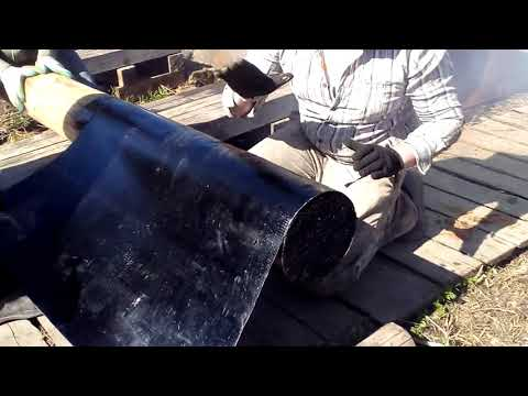 Как установить деревянный столб, чтобы он не сгнил