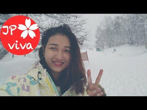 [JP viva] Kỳ nghỉ đông của Nhung - đi trượt tuyết ở Nagano Nhật Bản