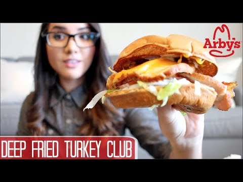 Arby's Deep Fried Turkey Club - Food Review
