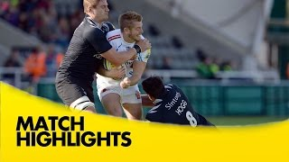 Newcastle Falcons v Exeter Chiefs - Aviva Premiership Rugby 2014/15