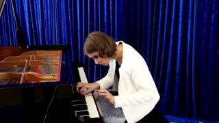 Anna Sutyagina plays Franz Schuberts Impromptu Es-Dur D 899/2