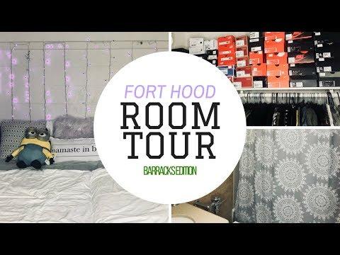 Fort Hood Barracks Room Tour 2017