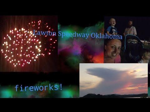 Lawton Speedway Fireworks Oklahoma