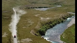 Molesworth Road :   Acheron to Isolated Saddle in real time