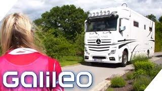 Vom LKW zum Wohnmobil: Die selbstgebaute Luxus-Suite | Galileo | ProSieben