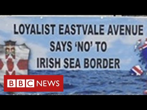 Loyalist factions withdraw support for Good Friday Agreement over Brexit customs deal – BBC News