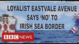 Loyalist factions withdraw support for Good Friday Agreement over Brexit customs deal - BBC News
