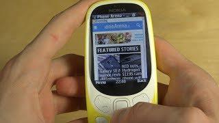 Nokia 3310 2017 - Internet Browser Review!