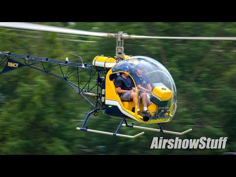 Ultralight Field - Helicopters and Autogyros - EAA AirVenture Oshkosh 2017
