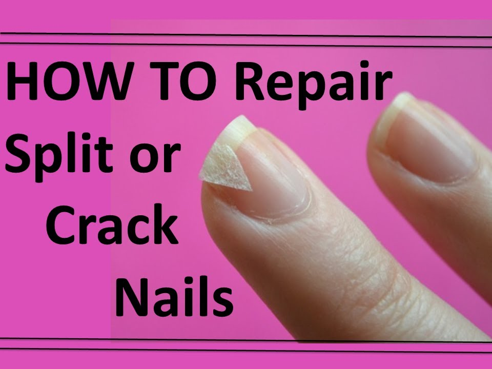 NAIL HACK | HOW TO FIX A BROKEN NAIL | Dearnatural62 - YouTube