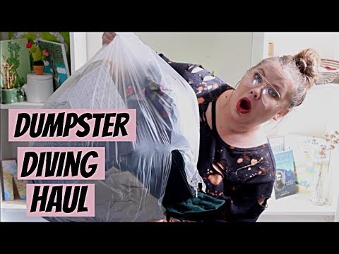 DUMPSTER DIVING HAUL from Old Navy **I'm Pissed Off**