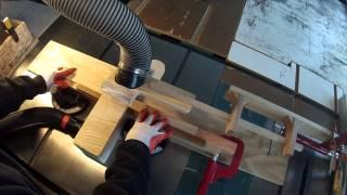 Tablesaw Dado Cutting Sled