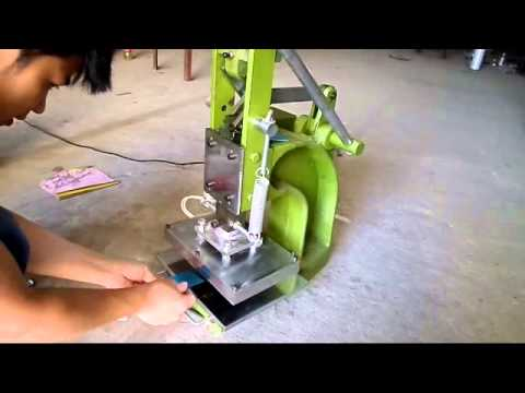 how to use a embossing machine