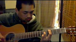 The Beatles - And I Love Her (fingerstyle)