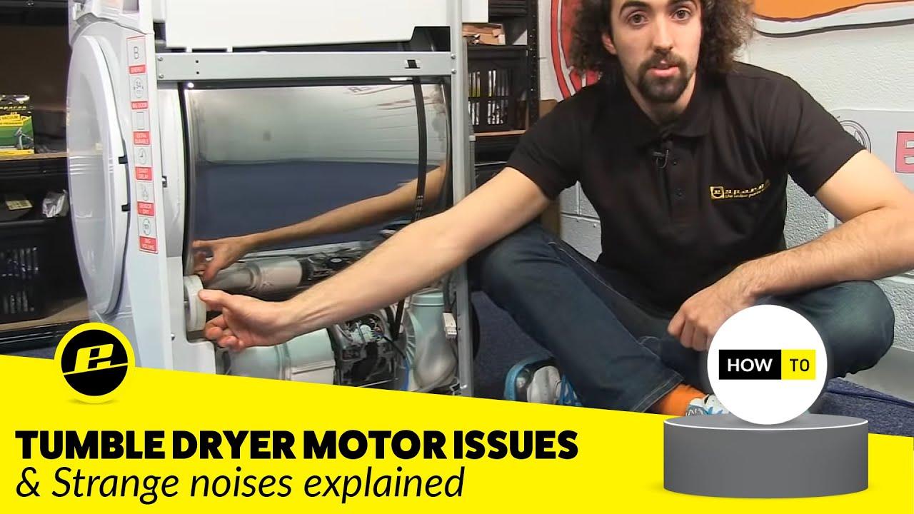How To Diagnose Tumble Dryer Motor And Noise Problems Youtube New Maytag Bravos Electric Bundadaffacom
