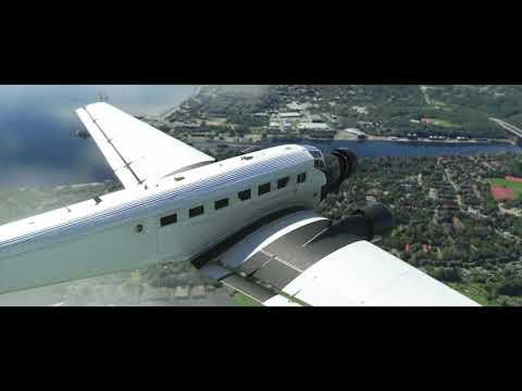 Microsoft Flight Simulator Junkers JU 52 Teaser   gamescom 2021