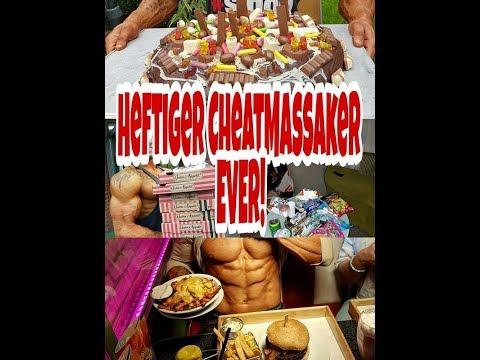 Hardcore CheatDay! Über 20k Kcal! 15k Kcal Kuchen! , 12Kg zugenommen, Ami Diners, 10 Pizzas uvm.