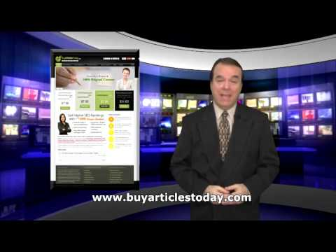 Buy Articles - Web Content Writing Service