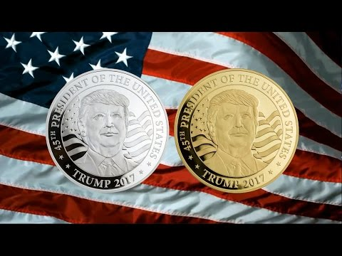 First Legal Tender Trump Coins