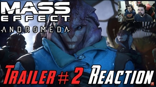 Mass Effect: Andromeda - Trailer #2 AJ Reaction!