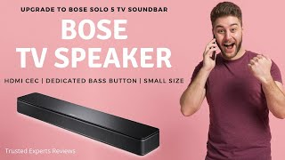 BOSE TV Speaker Review | New Small Soundbar from Bose - Trusted Experts Reviews