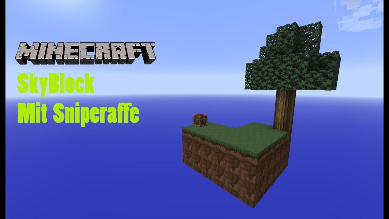 Let S Play Minecraft Skyblock 005 Ausleuchten Mit Planen Youtube