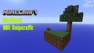 Let's Play Minecraft Skyblock #005 - ausleuchten mit Plänen