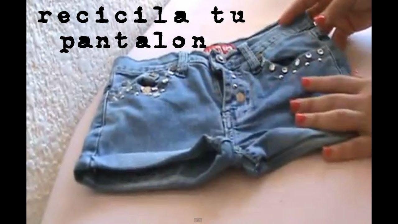 Reciclando Pantalon - Jazmin Gastelum - YouTube