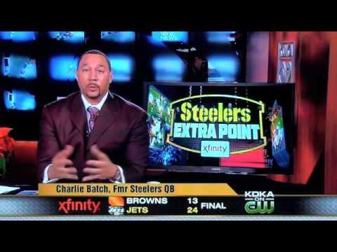 Charlie Batch breaks down Pittsburgh Steelers game winning play against Green Bay
