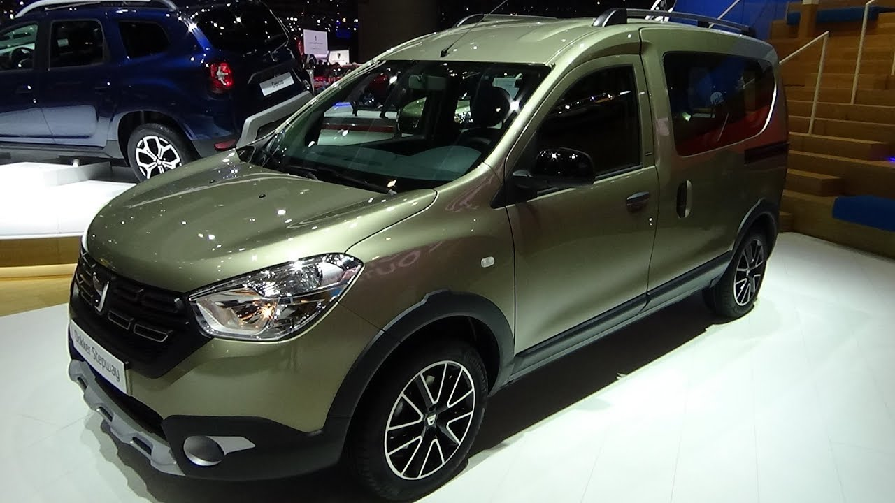 2018 dacia dokker stepway unlimited 2 tce exterior and interior geneva motor show 2018 3 1. Black Bedroom Furniture Sets. Home Design Ideas