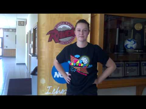 Volleyball's Kellee Cranston Talks About First Week as a College Player