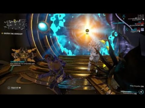 Warframe Particle Heaven! (Ps4 Pro)