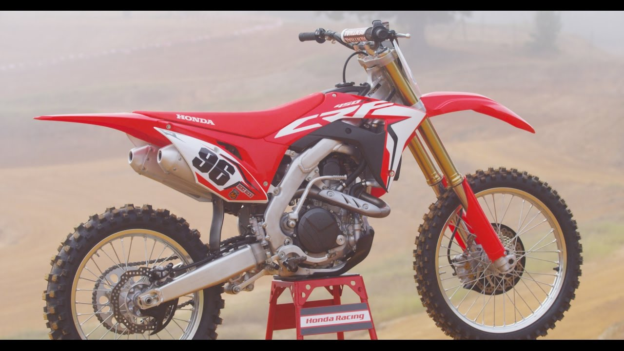 2017 Honda Crf 450 Dirt Bike Magazine Youtube