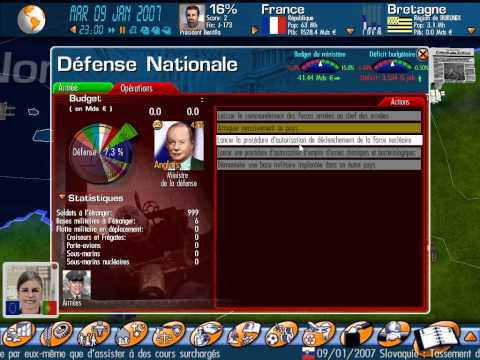 Les Navets Jouables - Mission president : Geopolitical Simulator
