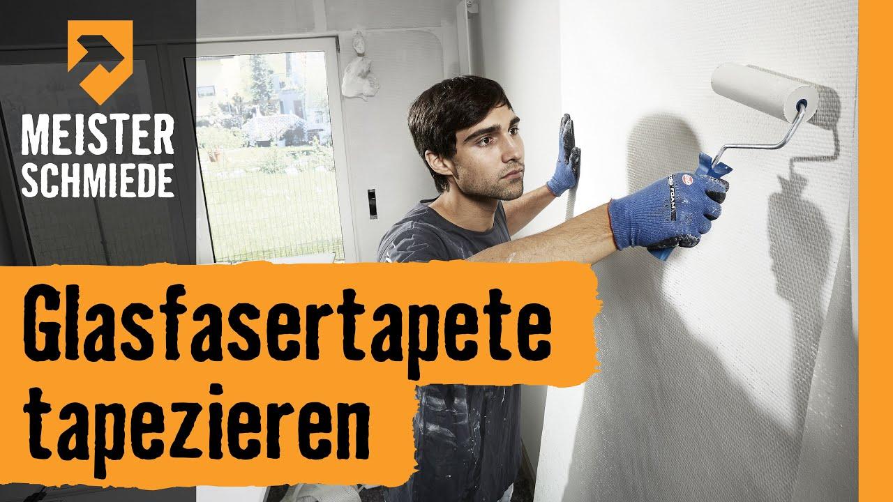 Super Glasfasertapete tapezieren | HORNBACH Meisterschmiede - YouTube KQ74