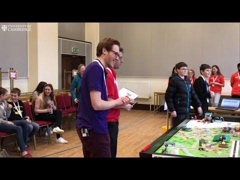 Cambridge hosts FIRST LEGO League regional final