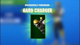 Claim the *NEW* HARD CHARGER SKIN in Fortnite! (Fortnite Season X) !