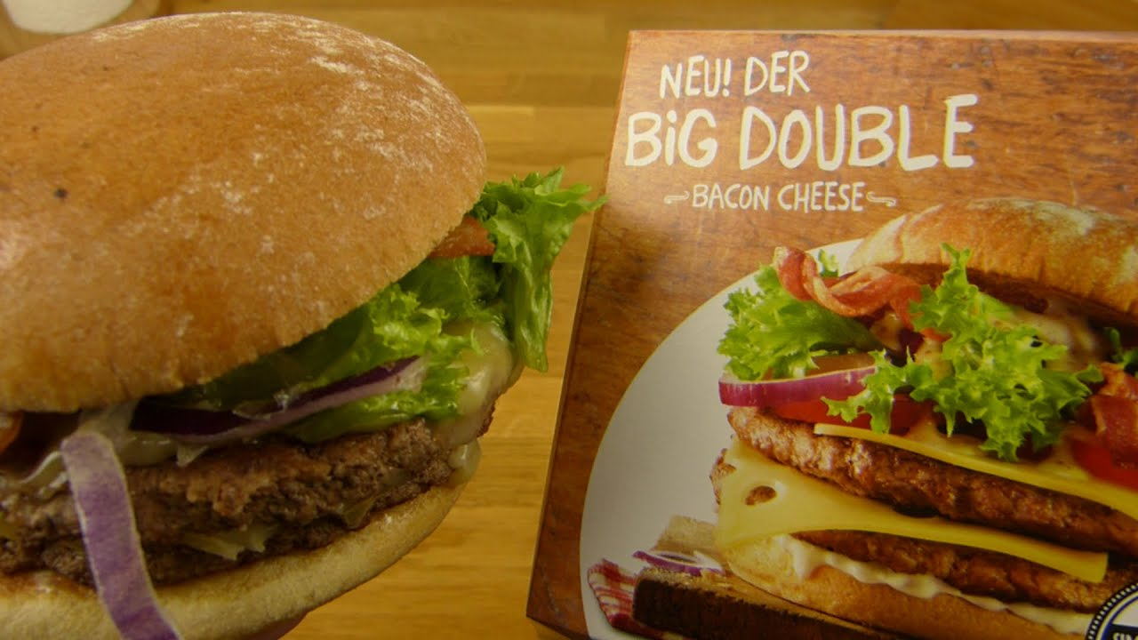 Mcdonald 39 S Big Double Bacon Cheese Wilde Küche 4 Youtube