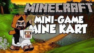 Minecraft Mini-Game | Mine Kart | Mario Kart 64 in MINECRAFT!?!?