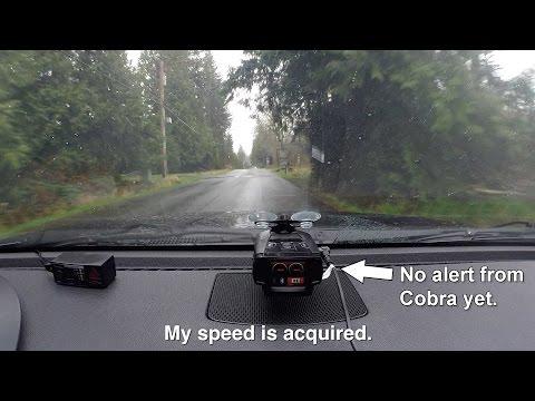 Cobra Radar Detector | A side by side comparison of top 3 Cobra